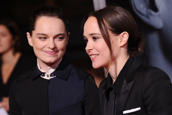 Ellen Page and her girlfriend Emma Portner