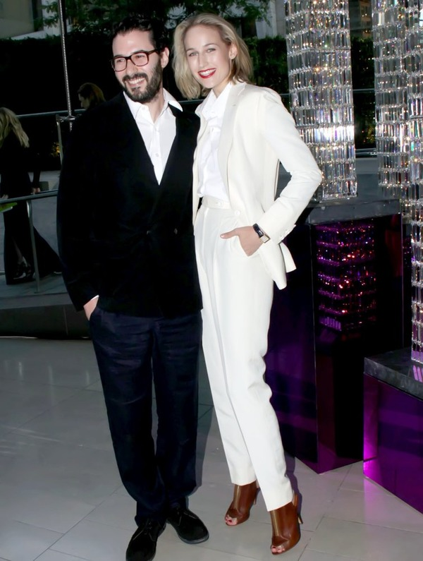 Leelee Sobieski and her husband Adam Kimmel