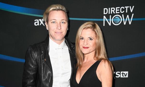 Abby Wambach and her wife Glennon Doyle Melton