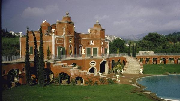 Sophia Loren house in Rome