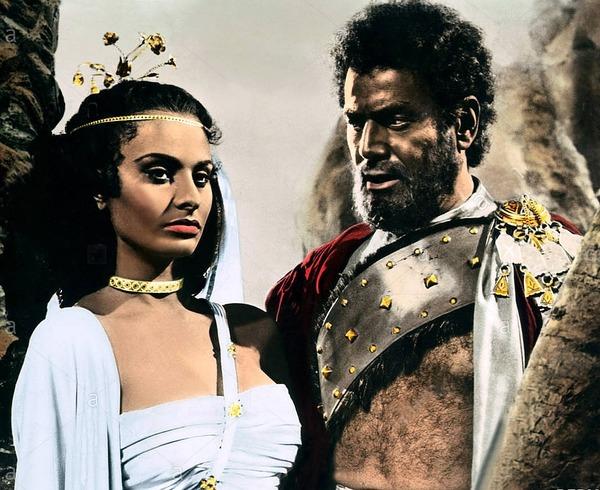 Sophia Loren and Afro Poli in Aida