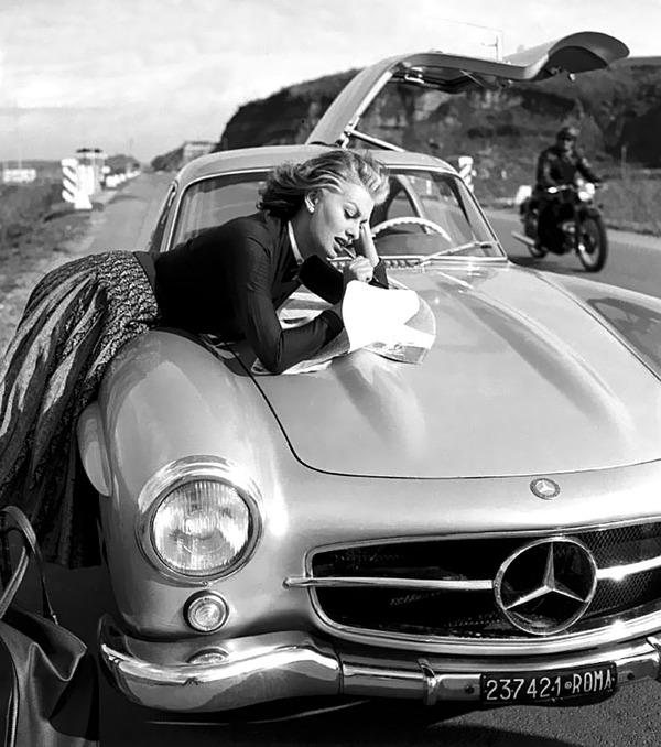 Sophia Loren car