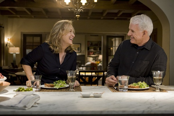 Steve Martin and Meryl Streep in It's Complicated