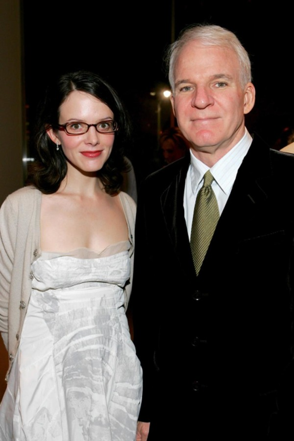Steve Martin and his wife Anne Stringfield