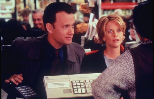 "Nora Ephron film ""You've Got Mail"" (Tom Hanks and Meg Ryan)"