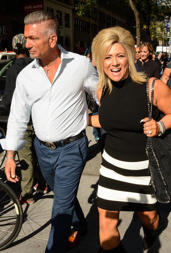 Larry Caputo and his wife Theresa