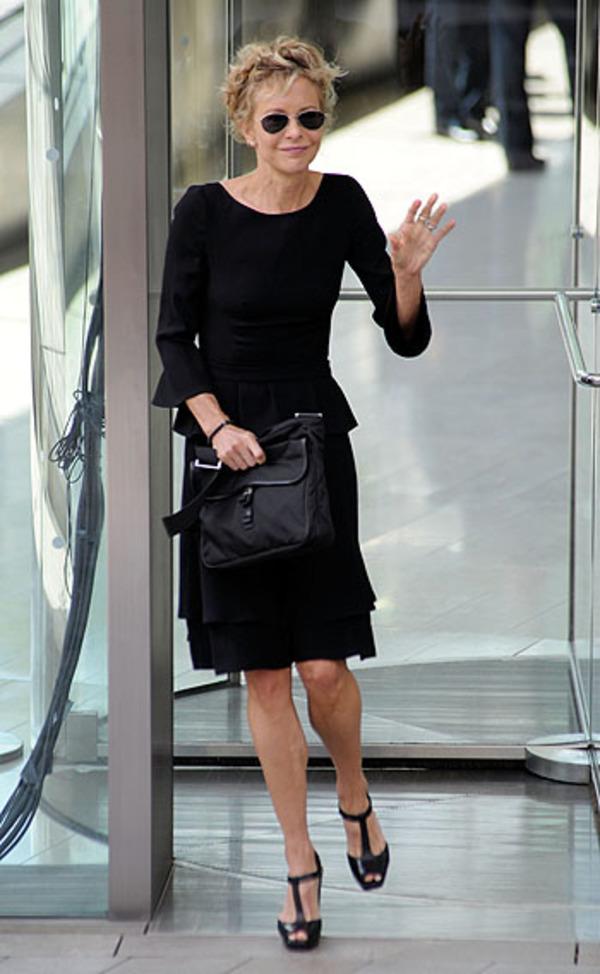 Meg Ryan at Nora Ephron Memorial Service