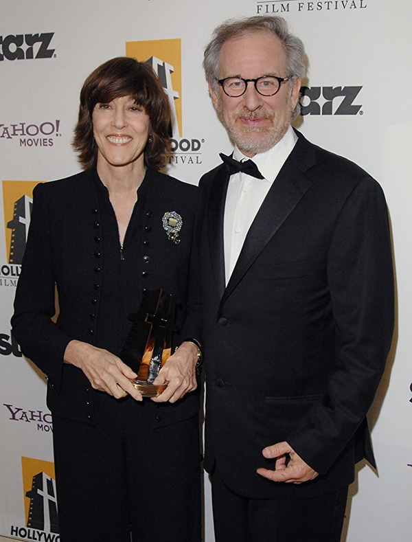 Nora Ephron and Steven Spielberg