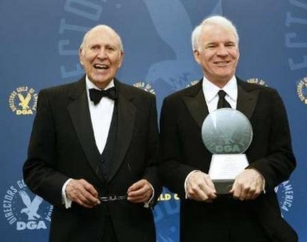 Steve Martin and Carl Reiner