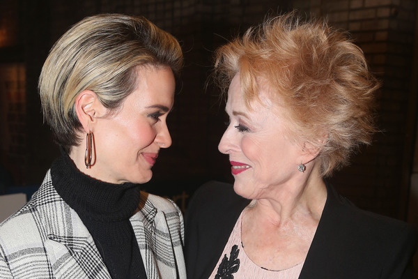 Sarah Paulson and her current partner Holland Taylor