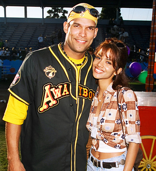 David Justice and his ex-wife Halle Berry