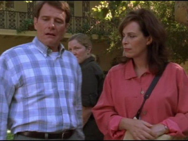 Bryan Cranston and Jane Kaczmarek in Malcolm in the Middle