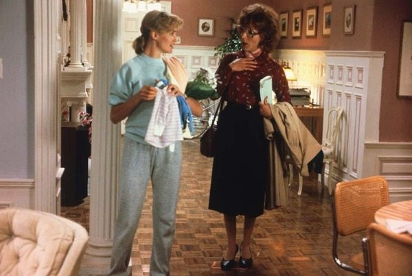 Dustin Hoffman and Jessica Lange in Tootsie