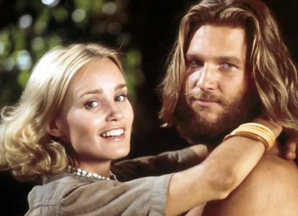 Jeff Bridges and Jessica Lange in King Kong