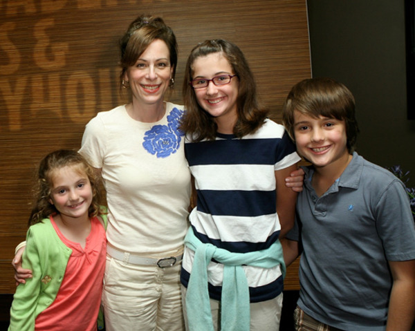 Jane Kaczmarek and her kids
