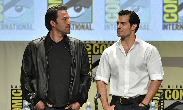 Henry Cavill and Batman v Superman co-star Ben Affleck