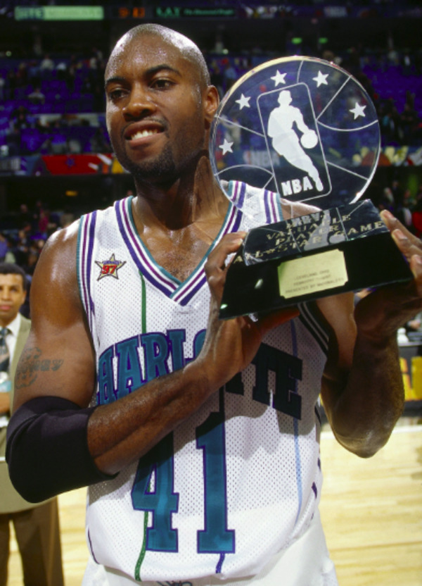 Glen Rice played for various teams and got numerous awards
