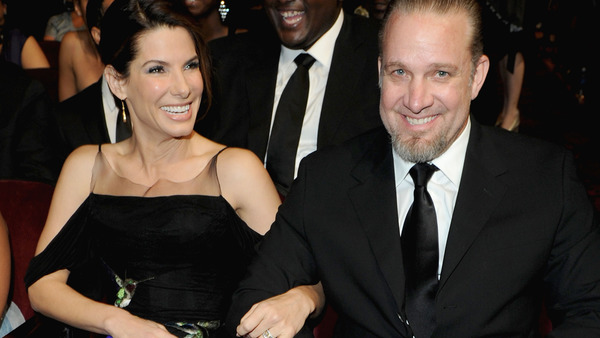 Jesse James and his ex-wife Sandra Bullock