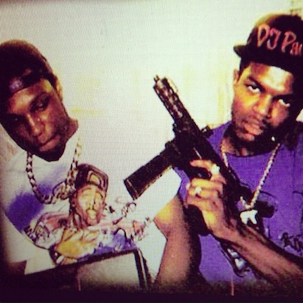 DJ Paul and his late half-brother Lord Infamous