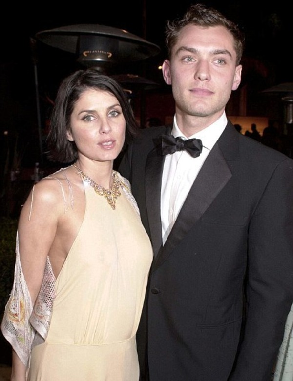 Jude Law and Sadie Frost (ex-wife)