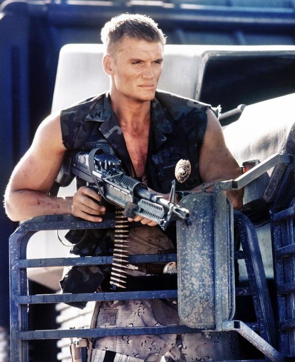 Dolph Lundgren in Universal Soldier