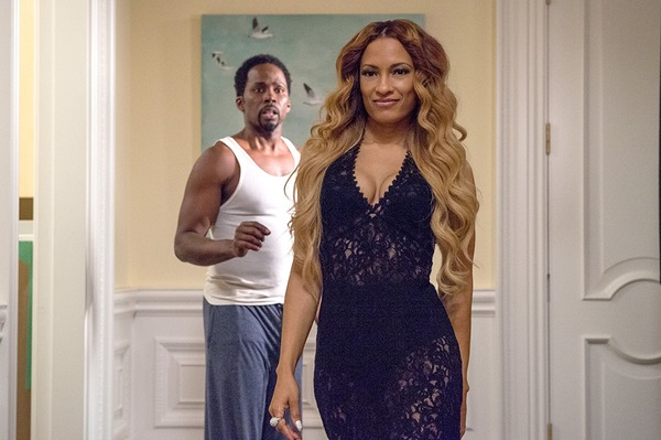 Melissa De Sousa and Harold Perrineau in The Best Man Holiday